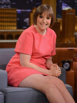 Lena Dunham visits 'The Tonight Show Starring Jimmy Fallon' on March 18.