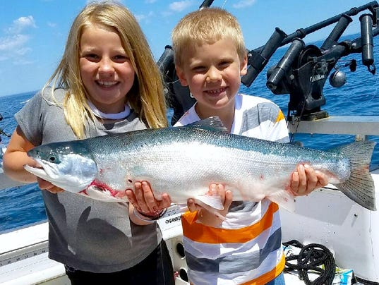 Lake michigan fishing report for june 30 for Mi dnr fishing report