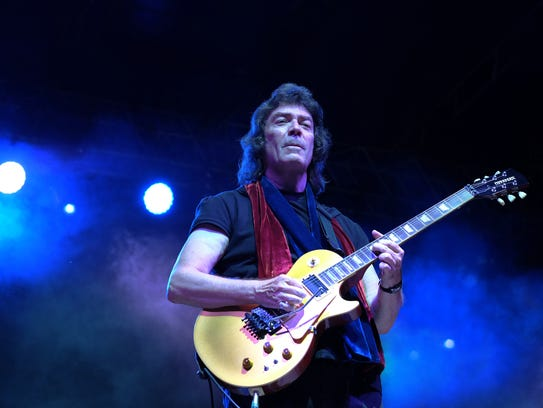 Steve Hackett, who was with Genesis from 1970 to 1978,