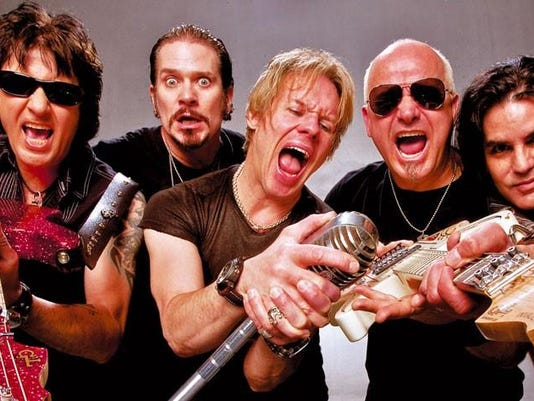 Glam metal band Warrant is coming to town