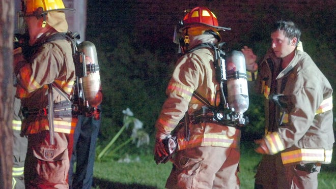 St. Landry Parish Fire District 3 firefighters responded to the fatal house fire Thursday night on Carl Drive in Opelousas.