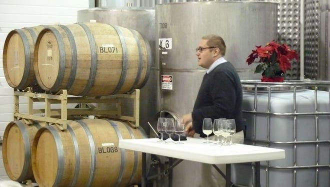 August Deimel is the winemaker for Keuka Spring Vineyards.