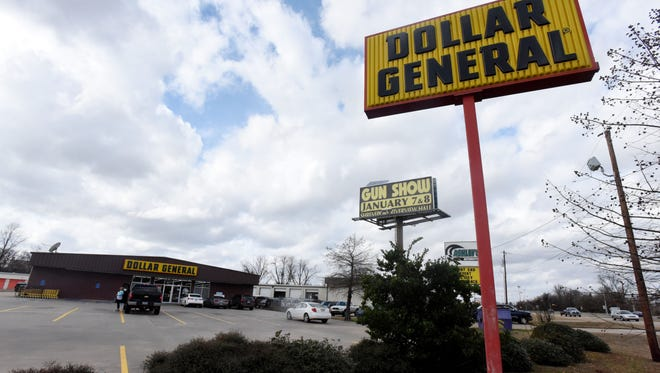 The Dollar General on Barksdale Blvd. in Bossier City.