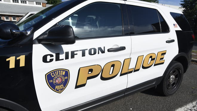 Clifton Police Department vehicle.