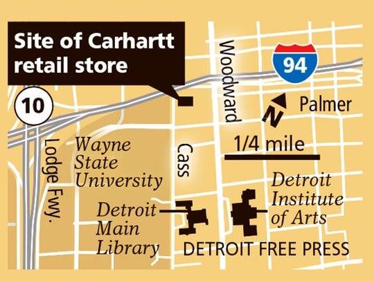 Detroit's new Carhartt store is now open.