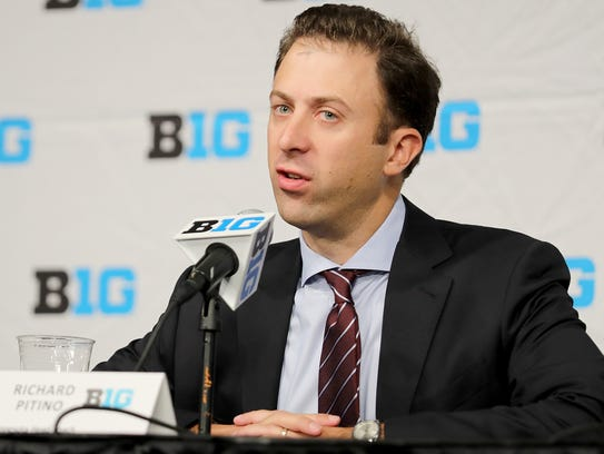 Richard Pitino said Thursday his father, fired Louisville