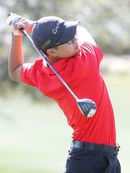 John Kim of Palm Desert High School participates in