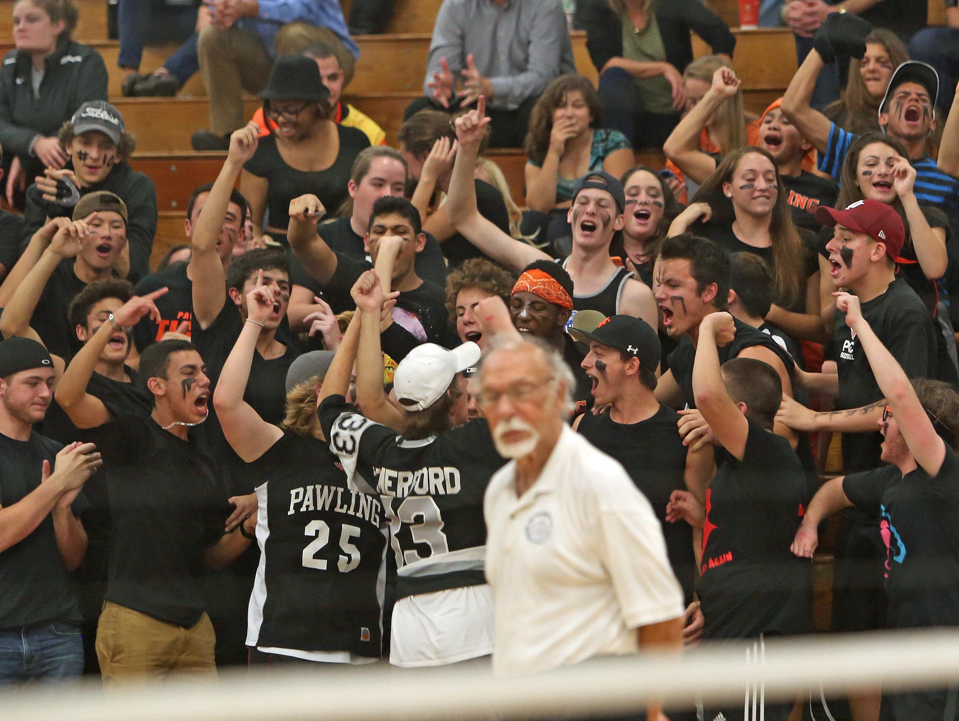 Pawling defeated Dobbs Ferry in the Section 1 Class C playoff championship at Hendrick Hudson High School in Montrose Nov 6, 2015.