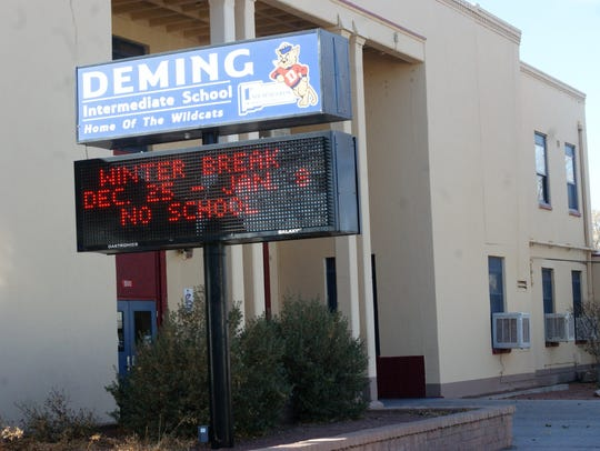The 2017-18 school year is to be Deming Intermediate's