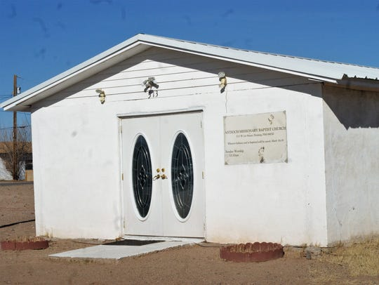 Antioch Missionary Baptist Church is slowly upgrading