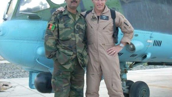 Martin Training Afghan