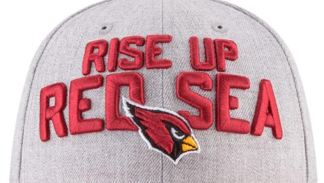 The Cardinals' 2018 NFL draft hat.