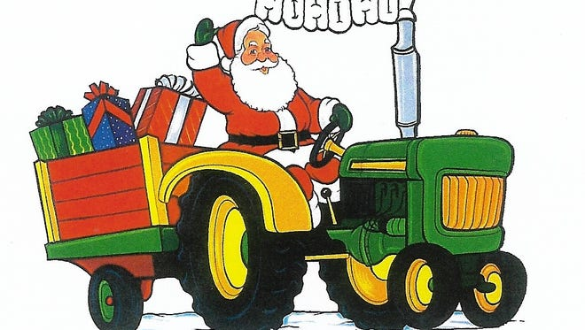 The annual Polonia Christmas Parade, sponsored by Glacier Ridge Antique Tractor Club, will be held on Dec. 8, 2017 in downtown Polonia.