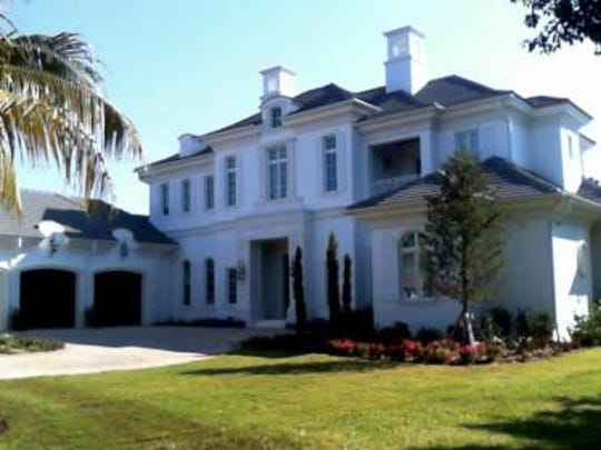 11781 Via Sorrento Court at Miromar Lakes made the top 10 home sales of 2016 in Lee County, selling for $5,638,575.
