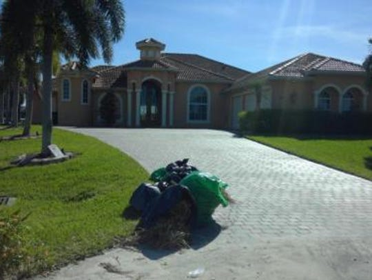 This home at  3015 SW 28th Ave., Cape Coral, recently