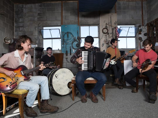 The Felice Brothers bring their folk-rock sound to Higher Ground on Sunday.