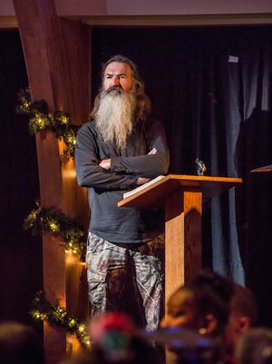 Phil Robertson stars in A&E's 'Duck Dynasty' Christmas special on Dec. 11, 2013.