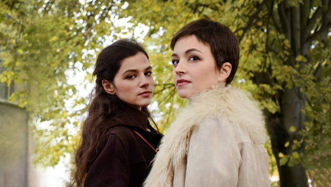 """Nelly Tagar and Joy Rieger portray two sisters who uncover a mystery in """"Past Life."""""""