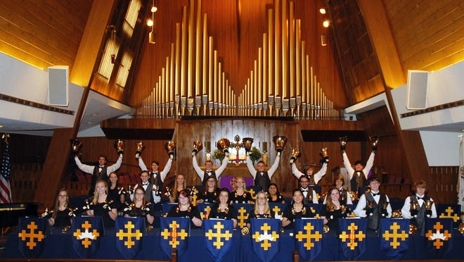 The Wesley Bell Ringers hand bell choir