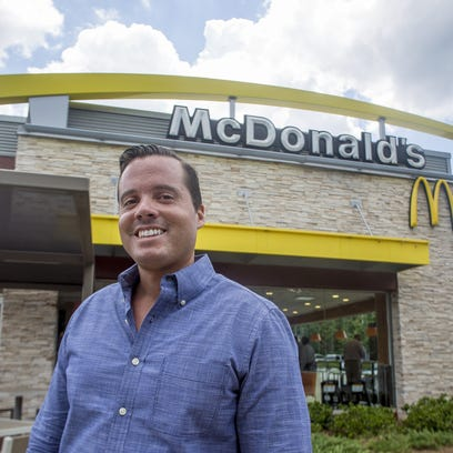 Raphael Vazquez stands out front of 1 of 19 local McDonald's