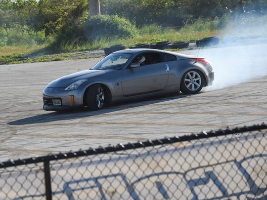 Proline held a drift show during the international