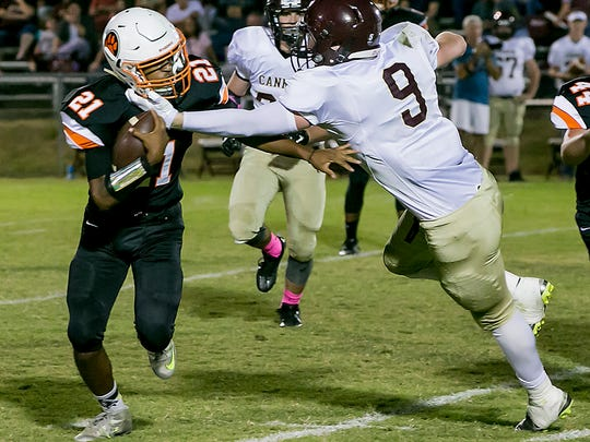 MTCS and sophomore running back Kemari McGowan will play in Division II-A this season.