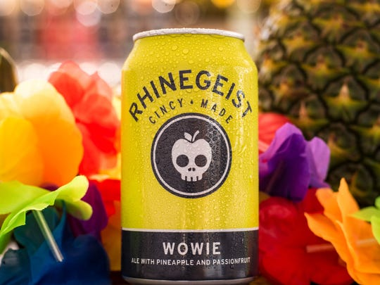 Wowie, a pineapple and passionfruit  ale from Rhinegeist