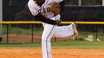 Dexter Jordan has been rock solid both on the mound and with the bat during Hattiesburg's early season struggles.