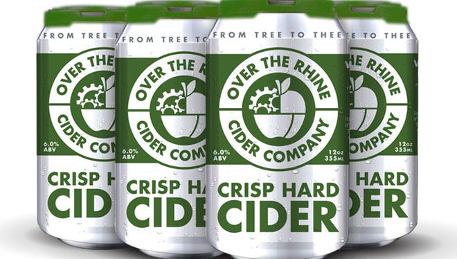 Over the Rhine Cider Company's Crisp Hard Cider.