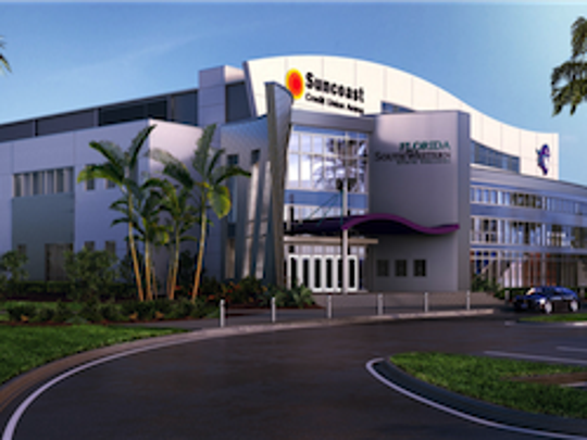 FSW arena exterior rendering