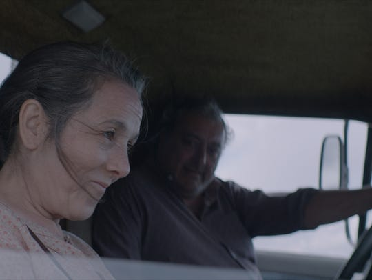 "Paulina García and Claudio Rissi star in ""The Desert"