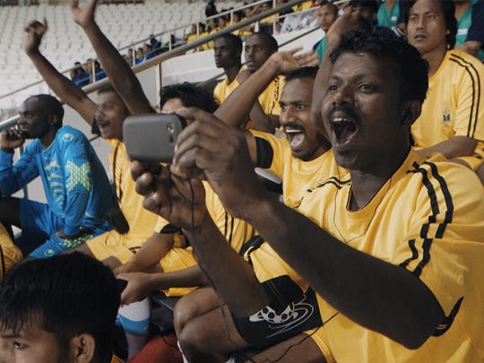 """The documentary """"The Workers Cup"""" shines a light on the abysmal conditions migrant workers are placed as they try to build infrastructure to get Qatar ready for the 2022 World Cup."""