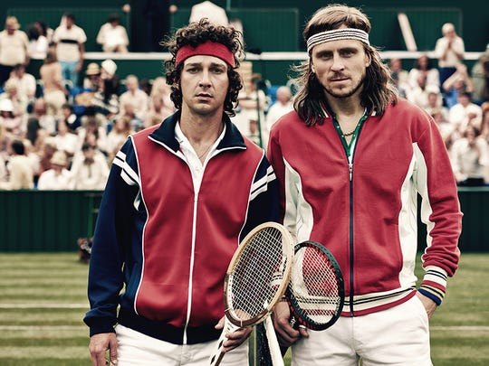 """The film """"Borg vs. McEnroe"""" is a pull-back-the-curtain look at two of the most famous tennis players of all time."""