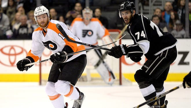 Last time the Flyers visited Los Angeles, they skated off with a 2-0 win.