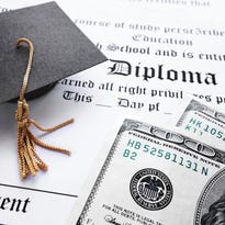 The average student loan burden for a 2015 college graduate tops $35,000.