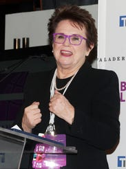 Billie Jean King believes change can happen through
