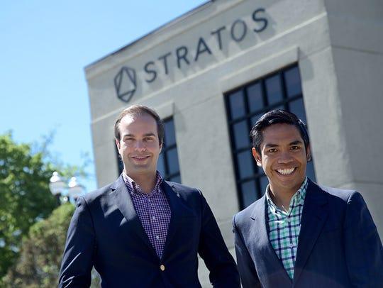 Stratos co-founders Thiago Olson and Henry Balanon