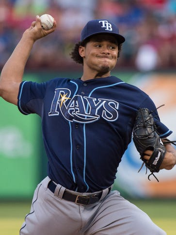 Chris Archer leads the AL in strikeouts since the All-Star