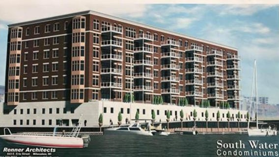A seven-story, 72-unit condo project is being proposed for Walker's Point.
