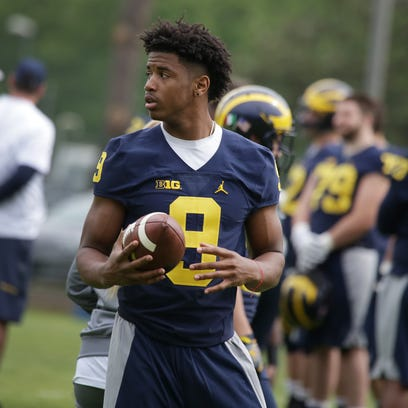Donovan Peoples-Jones held out of Michigan's first Rome practice