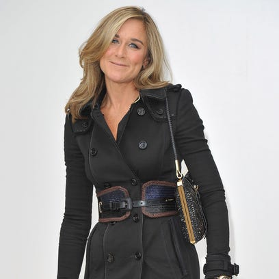 Angela Ahrendts, the former CEO of London-based fashion