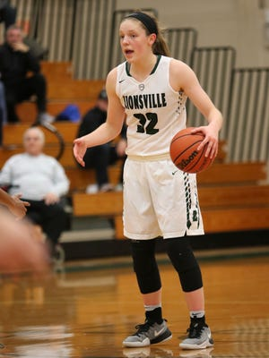 FILE — Zionsville's Rachel McLimore led the way with 21 points in the Eagles' win over HSE on Saturday.