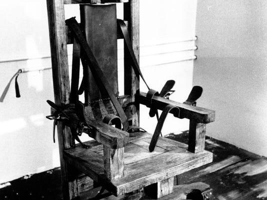 Tenn. electric chair