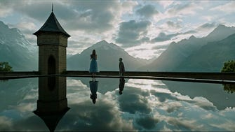 "As shown here, ""A Cure for Wellness"" is ""voluptuously shot."""