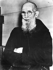 Father Solanus Casey in 1954.