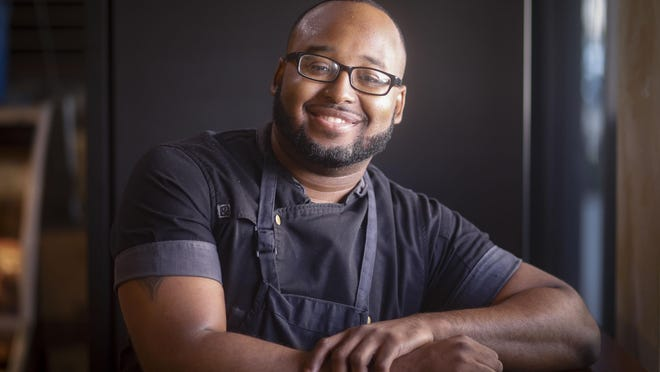 Jerry Hightower, head chef at Amici Market, leads a staff that prepares fresh food six days a week.