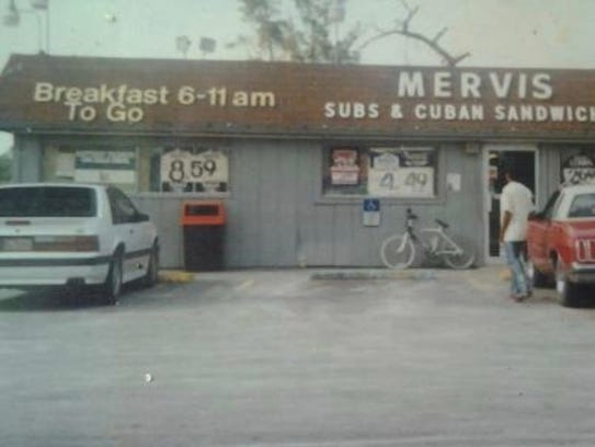 Mervis' Grocery opened in West Palm Beach in 1970.