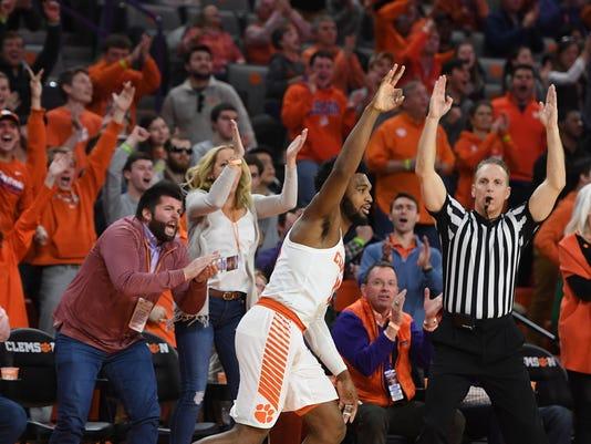 Clemson Louisville Basketball
