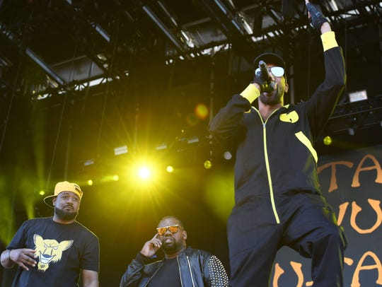 Wu-Tang Clan perform at 2017 Governors Ball Music Festival