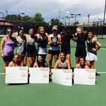 The Fort Collins High School girls tennis team finished second at the Class 5A Region 6 tournament in Grand Junction on Friday.